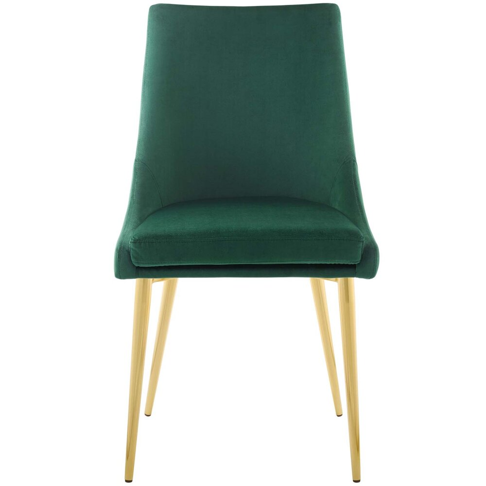 Viscount Modway Accent Performance Velvet Dining Chair