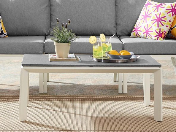 Riverside Outdoor Coffee Table White