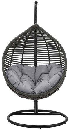 Garner Teardrop Outdoor Swing Chair Gray