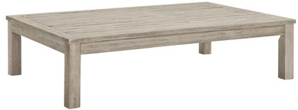 Wiscasset Outdoor Coffee Table Light Gray