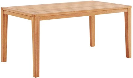 "Portsmouth 63"" Outdoor Dining Table Natural"