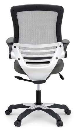 Edge Vinyl Office Chair Gray