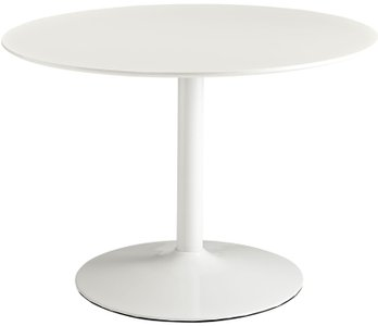 Revolve Round Dining Table White