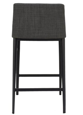 Baron Counter Stool Charcoal Gray