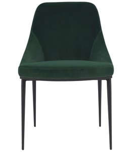 Sedona Dining Chair Velvet Green