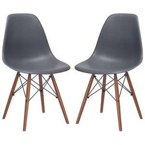 Buran Side Chair Walnut Base (Set Of 4)
