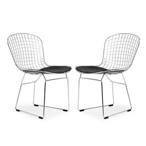 Morph Side Chair Black (Set of 2)