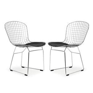 Morph Side Chair Black (Set of 2)