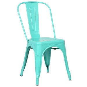 Holsak Dining Chair Aqua (Set Of 2)