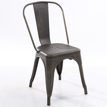 Holsak Dining Chair Bronze (Set Of 2)