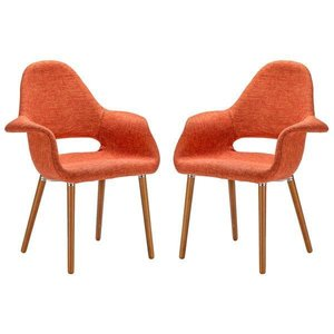 Barclay Dining Chair Orange (Set Of 2)