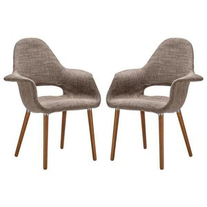 Barclay Dining Chair Taupe (Set Of 2)