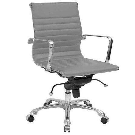 Acinola Mid Back Office Chair Gray