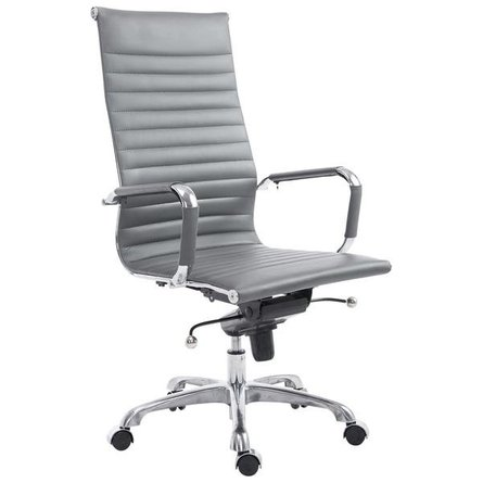 Acinola High Back Office Chair Gray