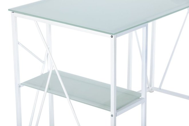 Pridinar Writing Desk White
