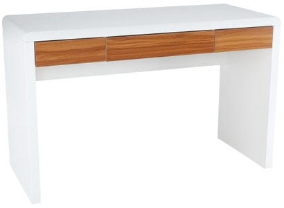 Fresco Writing Desk White
