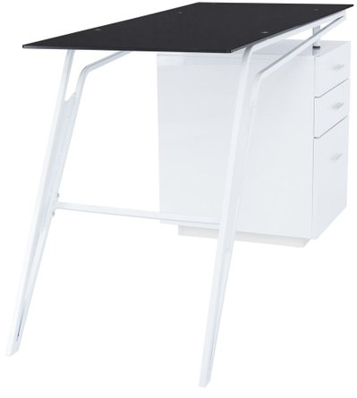 Livrence Writing Desk White