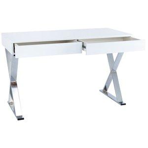 Marula Writing Desk White