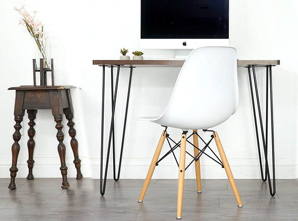 Vortex Writing Desk Walnut
