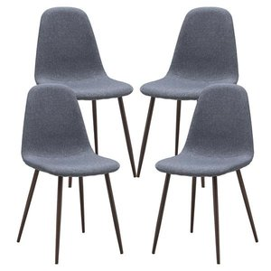 Mistal Dining Chair Gray (Set of 4)