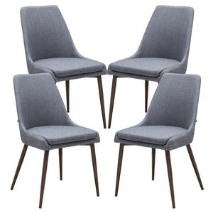 Bise Dining Chair Gray (Set of 4)