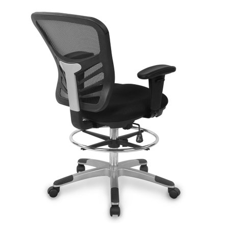 Ethen Drafting Chair Black