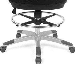 Ethen Drafting Chair In BlacK