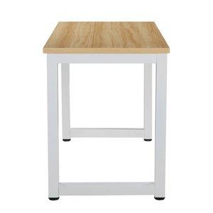 Lauren Office Desk With White Legs