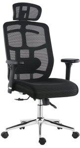 Karlen Office Chair In Mesh Black