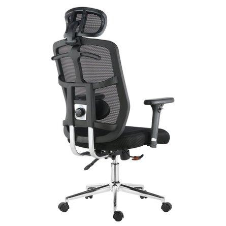 Karlen Office Chair In Mesh Black