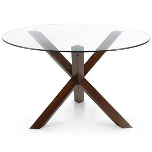 "Kerre 48"" Round Dining Table Walnut"