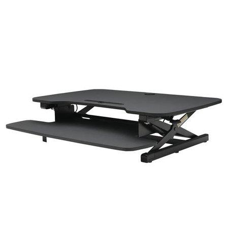 Bristol Sit-To-Stand Desk Black