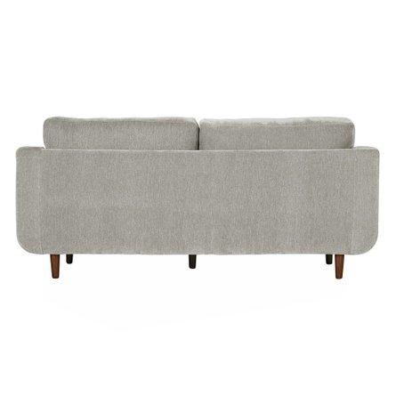 Inga Sofa Velvet Gray