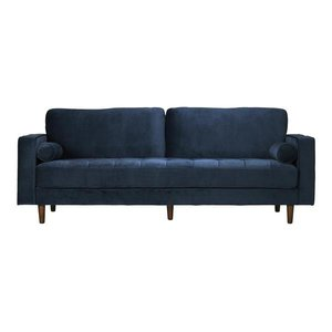 Inga Sofa With Velvet Blue