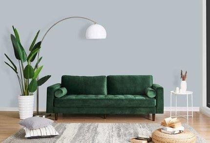 Inga Sofa With Velvet Hunter Green