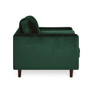 Inga Chair With Velvet Hunter Green