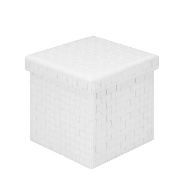 Sensational Page Cube Storage Ottoman White Creativecarmelina Interior Chair Design Creativecarmelinacom