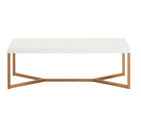 Trivia Coffee Table White