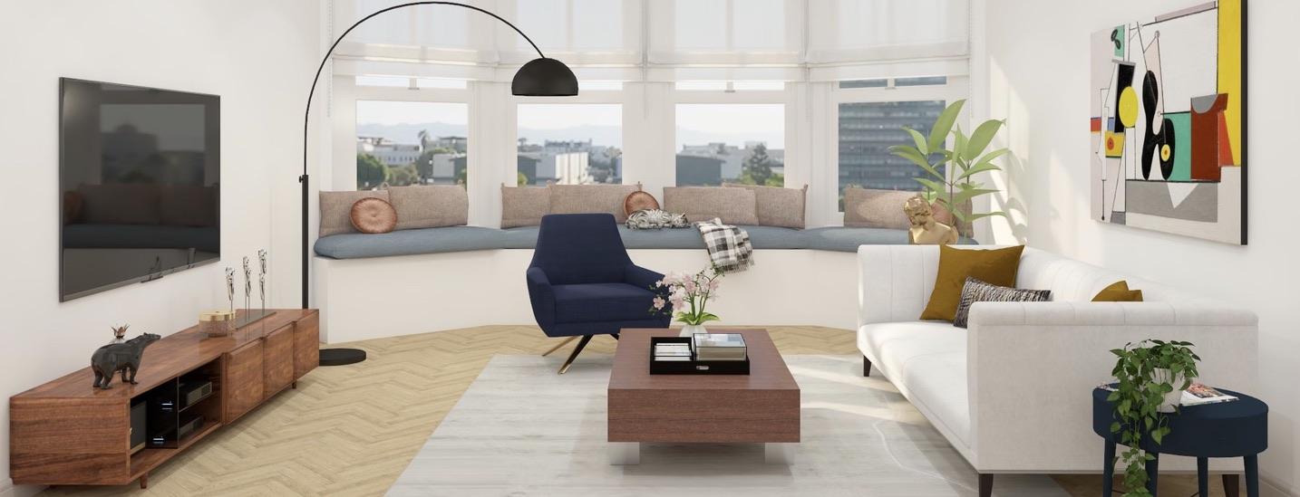 LA Classic Neutral Living Room
