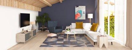 LA Modern Living Room