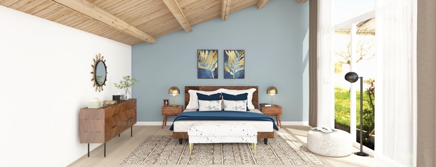 LA Modern Bedroom