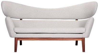 The Delos Sofa Gray