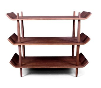The Morris Bookshelf Walnut