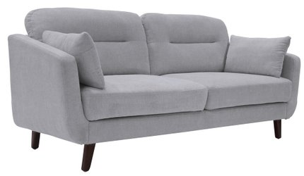 "Becrux 73"" Sofa in Smoke Gray"