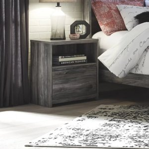 Musca 1 Drawer Night Stand Gray