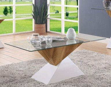 Bima 2.0 Coffee Table White And Natural Tone