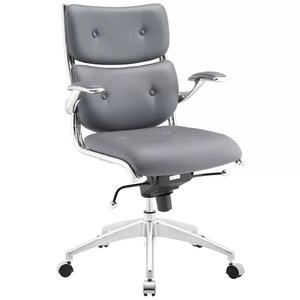 Push Task Chair Gray