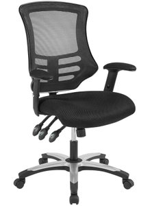Lago Vista Mesh Office Chair Black