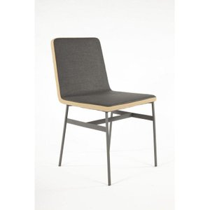 The Porter Dining Chair Dark Gray