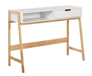 Elle Decor Jasper Writing Desk, French White